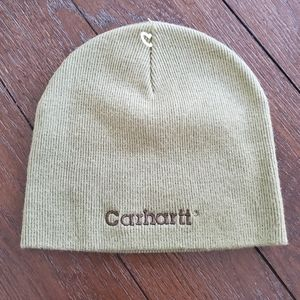 New Carhartt Green beanie Hat